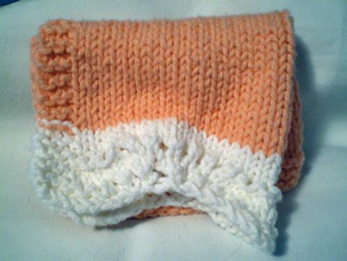 Peaches & Crème facecloth 2
