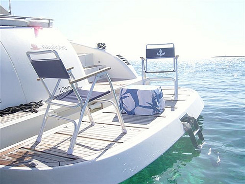 Featured Ibiza boat: Nautichic Pearl by Navegarte