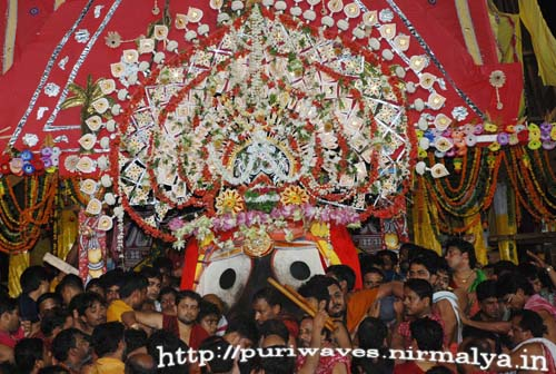 Niladri Bije – Lord Jagannath Returning to Shree Mandir
