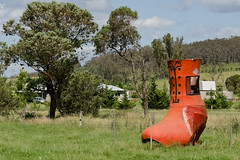 There was an old woman who lived in a shoe (brettm8) Tags: shoe australia newsouthwales milton