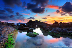 oceanic Sunset (A.alFoudry) Tags: ocean blue sunset sea orange mountain color green beach nature water colors clouds canon dark thailand eos weed rocks waves natural mark wave full shore thai frame april 5d kuwait fullframe phuket patong heavy ef kuwaiti q8 patongbeach abdullah newer mark2 2011 1635mm || f28l kuw q80 q8city xnuzha alfoudry abdullahalfoudry foudryphotocom mark|| 5d|| canoneos5d|| mk|| canoneos5dmark|| canonef1635mmf28lmark||