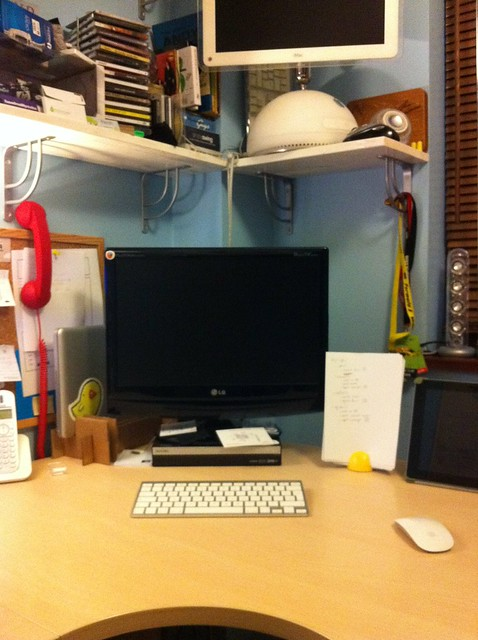 My Desk - July 2011