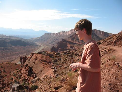 Kevin, Gemini Bridges, Moab, Jeep
