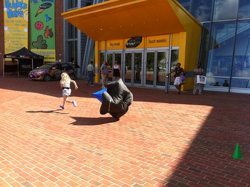 Running at the Maryland Science Center