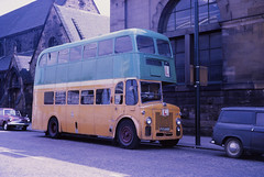 Glasgow Corporation L45 Pollockshields (Guy Arab UF) Tags: bus buses training drive scotland glasgow albert corporation driver 1956 titan trainer leyland weymann pollockshields l45 pd225 fys668
