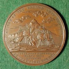 Biddle medal reverse