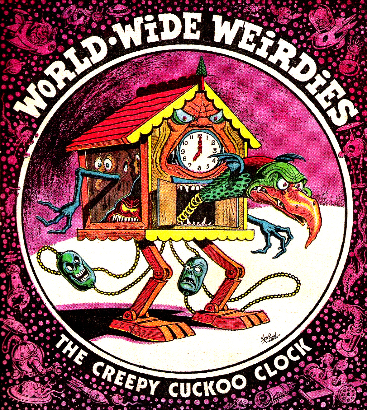 Ken Reid - World Wide Weirdies 41