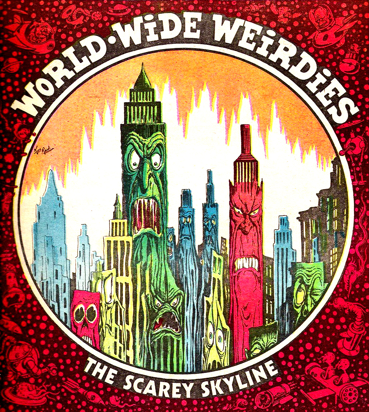 Ken Reid - World Wide Weirdies 26