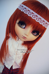 Ivy - Pullip Zuora (-Poison Girl-) Tags: new red orange white girl hair ginger doll dolls eyelashes body ivy fringe pale redhead more wig carrot groove pullip straight poison bangs pullips bodies poisongirl obitsu junplanning rewigged obitsubody zuora pullipzuora sbhm