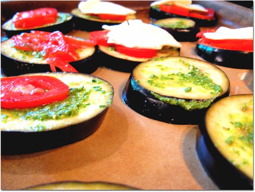 Baked Eggplant Rounds