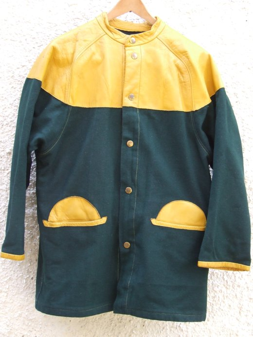 Front, Willie Brown donkey jacket purchased by Sal Macasil from early 80s London boutique Axiom.