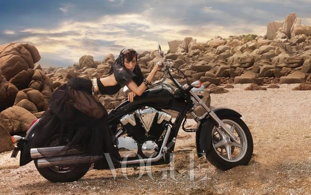 vogue korea biker angels 08