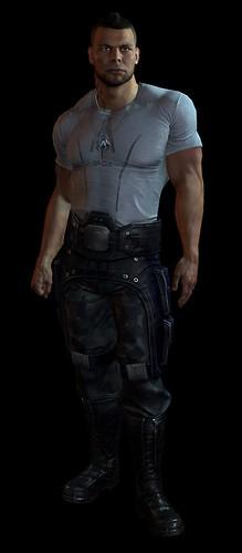 Mass Effect 3 Companions - Meet James Vega