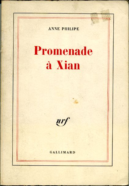 Promenade à Xian, by Anne PHILIPE