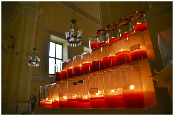 Candlelight in the Church