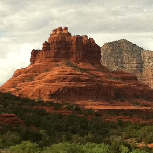 Wandering around Sedona. Beware rattlesnakes and scorpions.