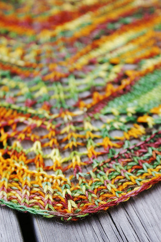 Skein of Geese Scarf