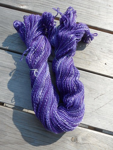 TdF - day 19 - sw merino - 2.9oz - 350yds-2ply-first skein-