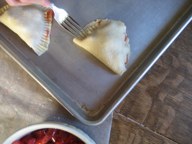 making hand pies