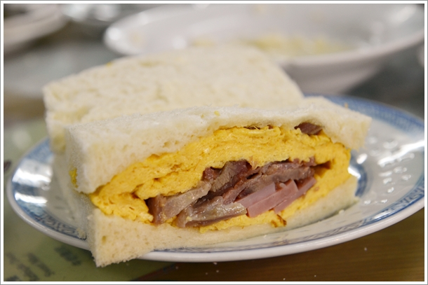 The Famous Nam Peng Sandwich