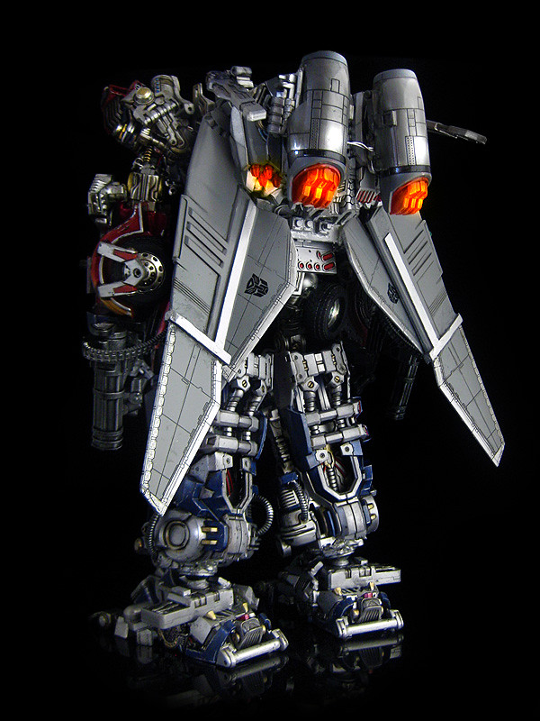 Dark of the Moon : Ultimate Optimus Prime (back 2)
