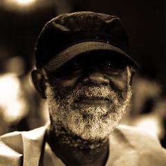 Stranger: One (Shelby Rad) Tags: portrait people man closeup night beard 50mm orlando florida bokeh homeless stranger nighttime facialhair canont1i