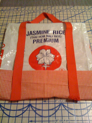 Rice bag tote