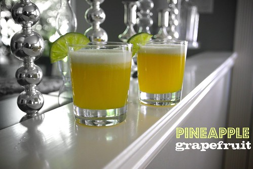 pineapple grapefruit juice!