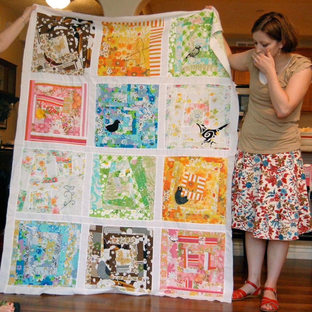 amy's bird quilt