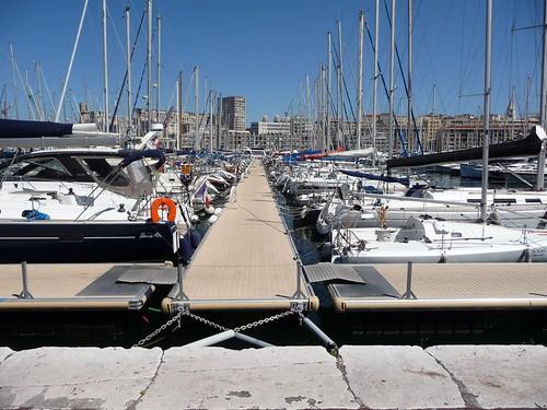 Marseille : son port vers le sud (Londres)