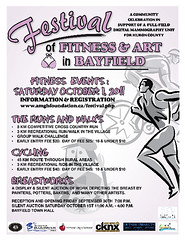 Festival of Fitness and Art in Bayfield