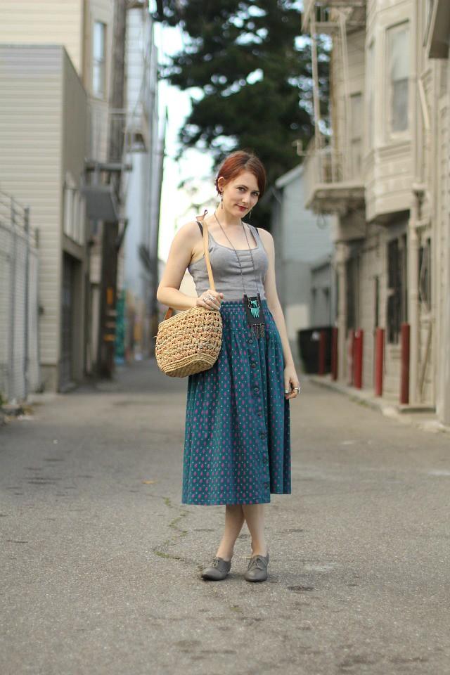 Southwestern skirt 1