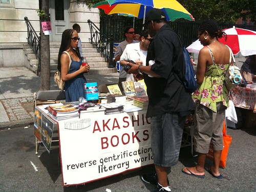 Akashic Books @ Harlem Book Fair