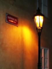 Velkoprevorske Namesti (janeausten810) Tags: sign prague streetlamp streetsign prag tschechien czechrepublic namesti strasenschild tschechicherepublik strasenlampe velkoprevorske