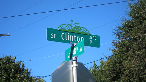 Clinton Street Sign by timlauer