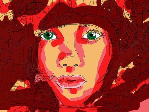iPad Sketch Montreal by blackaller
