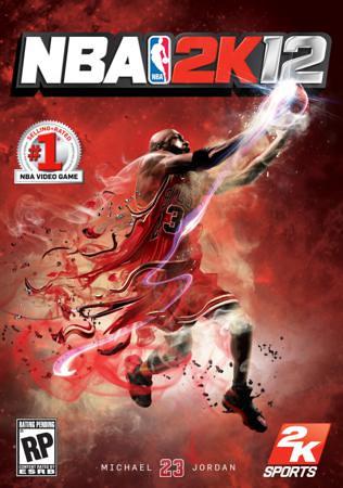 NBA 2K12 - Michael Jordan Cover