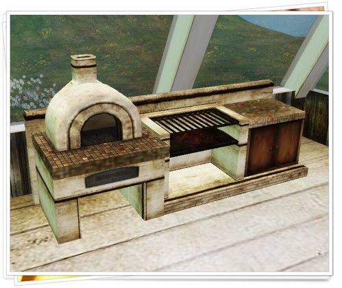 -[ Zacca ]- Garden Kitchen - SwayLand SummerHunt