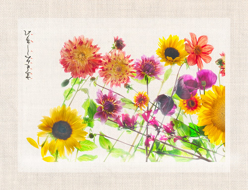 Garden Flowers - Left Panel