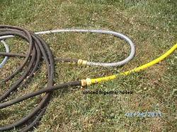 hose with connectors