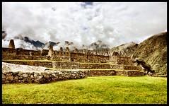 Machu Picchu - Main Square (chriswalts) Tags: travel peru machu picchu inca ruins machupicchu factoryhouses