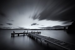 squids jetty (< Nick Friend >) Tags: longexposure water clouds newcastle belmont jetty australia nsw leefilters squidsink