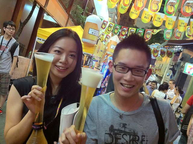 Lan Kwai Fong Beer Fest 2011