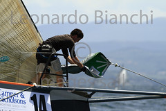 LeonardoBianchiImages Sail 1910 (Leonardo Bianchi) Tags: sport mare slovenia vela acqua azzurro trieste golfo uomini regate