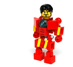 Iron Man (Cam M.) Tags: scale movie cool lego awesome ironman minifig epic accurate hardsuit buthowdoyousolvetheicingproblem