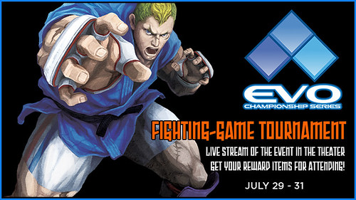 EVOL Championship Series in PlayStation Home