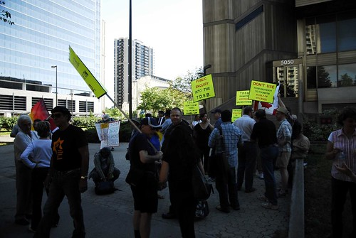 TDSB Protest