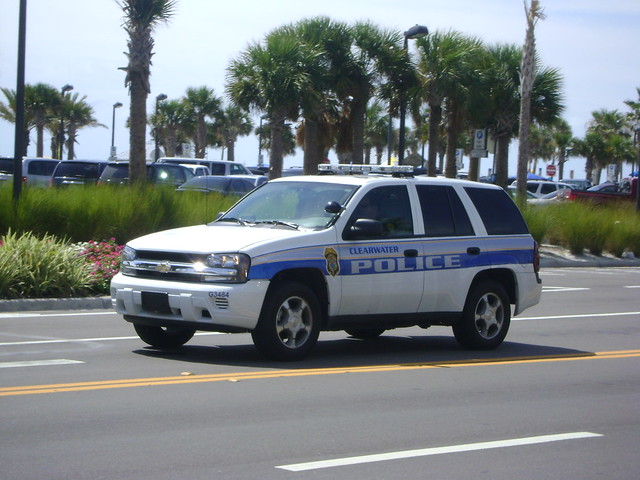 metro florida police chevy trailblazer clearwater