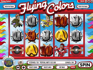 Flying Colors Slot Machine