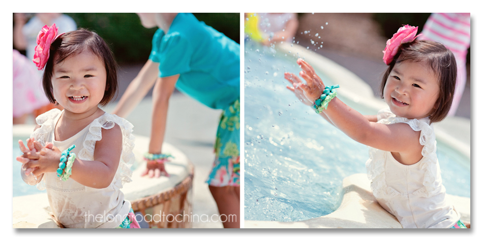 Reagan Splash Pool COLLAGE